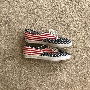 68a81143afd Vintage Shoes - Vintage keds Stars and Stripes sneakers